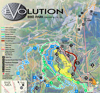 crested butte evolution bike park trail map