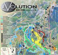 crested butte evolution bike park trail map